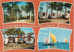 RAVENNA - CASAL BORSETTI - CAMPEGGIO CARABINIERI - VEDUTINE MULTIVUES - VIAGGIATA 1971 - Ravenna