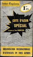 Côte D'Azur Spécial Par Ian Mercer - Inter-espions N°20 - Sin Clasificación