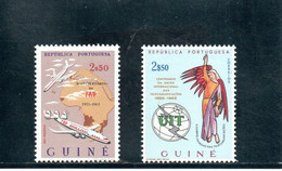 GUINEE PORT. 1963-5 ** - Guinée Portugaise