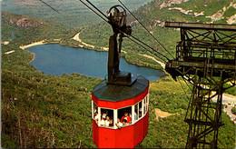 "New Hampshire Franconia Notch Tram Car ""Lafayette"" And Echo Lake 1972 - White Mountains"