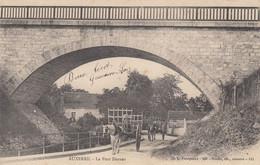 89 - Auxerre - Sublime Cliché Animé Du Pont Darnus - Attelages - Auxerre