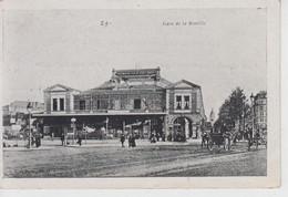 CPA Paris - Gare De La Bastille (avec Animation) - Stations, Underground