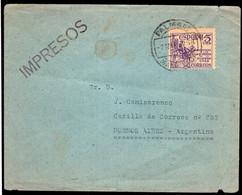 España - 1950 - Carta - Enviada A Argentina - A1RR2 - 1931-50 Cartas