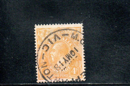 AUSTRALIE 1914-23 O JAUNE - Used Stamps