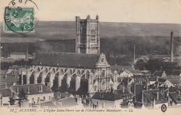 89 - Auxerre - Beau Cliché De L'Eglise Saint-Pierre Vu De L'Observatoire Manifacier - Auxerre