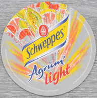 Sous-bock SCHWEPPES Agrum' Light Bierdeckel Bierviltje Coaster (V) - Portavasos