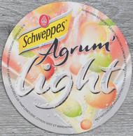 Sous-bock SCHWEPPES Agrum' Light Bierdeckel Bierviltje Coaster (GE) - Portavasos