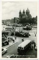 NEDERLAND  AMSTERDAM   Prince Hendrikkade  St. Nicolaaskerk  Tram Tramway  Autobus  Car VW - Amsterdam