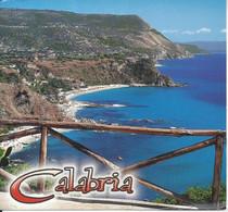 CPM Italie Calabria Immensa Balconatasul Mare Incontaminato, Acqua Cristallina Fondali Transparenti Oblitérée à Aprigl - Sin Clasificación