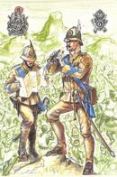 Alpini  1° Battaglione Alpini D'Africa Disegno Ainardi - Sonstige