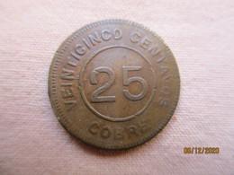 Guatemala: 25 Centavos 1915 - Guatemala