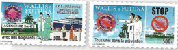Timbres COVID WALLIS ET FUTUNA ADHESIFS Non Commercialisés En France - Nuevos