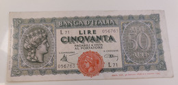 50 Lire 1944 - 100 Lire