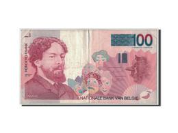 Billet, Belgique, 100 Francs, Undated (1995-2001), KM:147, TB - 100 Francs
