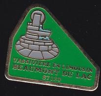 68702-Pin's-Beaumont-du-Lac . Lac De Vassivière . Limousin - Cities