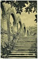 Sintra 1900's - Escadaria Nobre Do Palacio Do Ramalhão - Ed. F. A. Martins N.º 2010 - Cintra - Lisboa