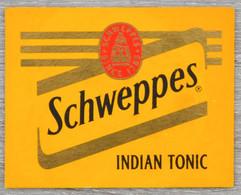 Sous-bock SCHWEPPES Indian Tonic Bierdeckel Bierviltje Coaster (RA) - Portavasos