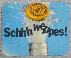 Sous-bock SCHWEPPES Bierdeckel Bierviltje Coaster (V) - Portavasos