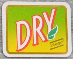 Sous-bock SCHWEPPES DRY Bierdeckel Bierviltje Coaster (CX) - Portavasos