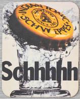 Sous-bock SCHWEPPES Schhhhh Bierdeckel Bierviltje Coaster (V) - Portavasos