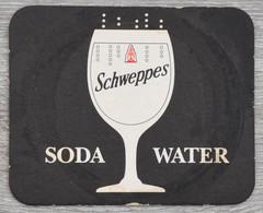 Sous-bock SCHWEPPES Soda Water Bierdeckel Bierviltje Coaster (CX) - Portavasos