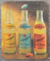 Sous-bock SCHWEPPES Grapefruit Lemon Orange Bierdeckel Bierviltje Coaster (L) - Portavasos