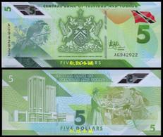 Trinidad And Tobago 5 Dollars, (2020), Polymer, UNC - Trinidad & Tobago