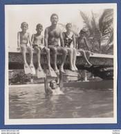 ORIGINAL OLD PHOTO LITTLE BOYS IN SWIMSUIT Garçons Nus Nu Nude - Anonymous Persons