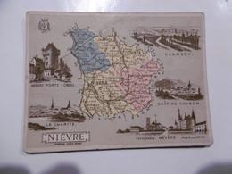 D 58 - Nevers, Clamecy, Chinon, Varzy, Corbigny, Montsauche, Alligny, Pougues, Decize, Asnan, Bona, Raveau, Luzy - Otros Municipios