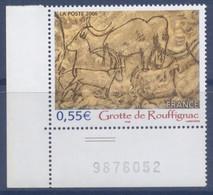 N° 3905 Grotte De Rouffignac Valeur Faciale 0,55 € - Ungebraucht