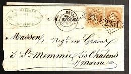 40305 - De MEZIERES - 1849-1876: Klassieke Periode