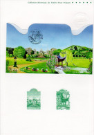 """"""" JARDINS DE MARSEILLE """"  Sur Doc. Officiel De 4 Pages De 2008. N° YT BF 118. Parfait état ! DPO - Documents Of Postal Services"""
