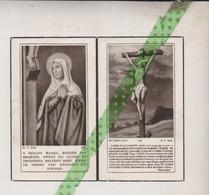 Alphons Leleu-Van Dendooren, Opbrakel 1871, Ronse 1948 - Todesanzeige