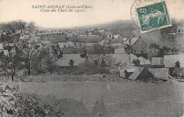 A-20-8429 : SAINT-AIGNAN SUR CHER.  CRUE DU CHER DE 1910 - Saint Aignan