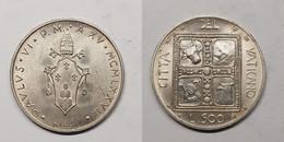Vatican City 500 Lire, 1977 KM# 132 Period Pope Paul VI (1963 - 1978) - Vaticano