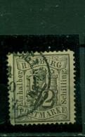 Hamburg, Wappen Nr. 10 Gestempelt - Hamburg (Amburgo)