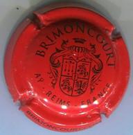CAPSULE-CHAMPAGNE BRIMONCOURT N°03 Rouge & Noir Insc Contour - Altri
