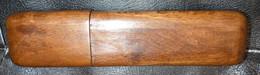 Ancien étui à Lunettes Ou Lorgnons En Chêne (pour Lunettes Très Fines Et Peu épaisses) - Cajas/Cofres
