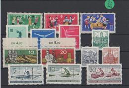 DDR   Postfrisch   MiNr. 827-840 - Sin Clasificación