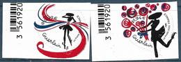 Adhésif Coeur Guerlain 0.97 + 1.94 BDF (2020) Neuf** - KlebeBriefmarken