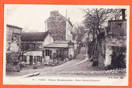 X75185 PARIS XVIII Cabaret Le LAPIN AGILE Croisement Rue SAINT-VINCENT Et Rue Des SAULES VIEUX-MONTMARTRE St 1910s - Distrito: 18