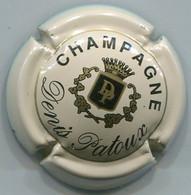 CAPSULE-CHAMPAGNE PATOUX Denis N°08 Crème Petites Lettres - Altri