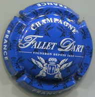CAPSULE-CHAMPAGNE FALLET-D'ART N°19b Bleu & Blanc - Altri