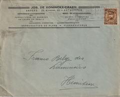 Jos. De Koninckx-Craen, Antwrpen, Hemixem - Vlagstempels
