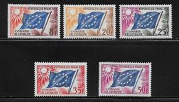 FRANCE  ( FRS - 3 )  1958  N° YVERT ET TELLIER  N° 17/21   N** - Neufs