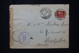 ITALIE - Enveloppe De Asti Pour La France En 1945 Avec Contrôle Postal De Genova - L 80958 - Marcofilía