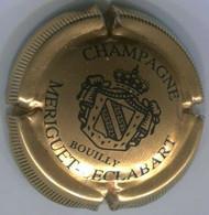 CAPSULE-CHAMPAGNE MERIGUET-LECLABART N°02 Or-bronze & Noir Striée - Altri