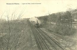 47 LOT GARONNE SAINT JEAN DE THURAC TRAIN LIGNE MIDI A VOIR - Other Municipalities