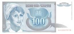 100 Dinar Serbien-Montenegro 1992 - Other - Oceania