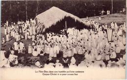 Asie - Corée - La Fête Dieu Dans Une Humble Paillotte Coréenne - Corpus Christi In A Poor Corean Hut - Korea, South